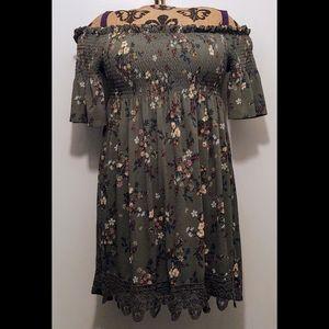 Xhilaration (Target) Floral Mini Dress